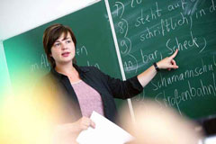 German language teacher